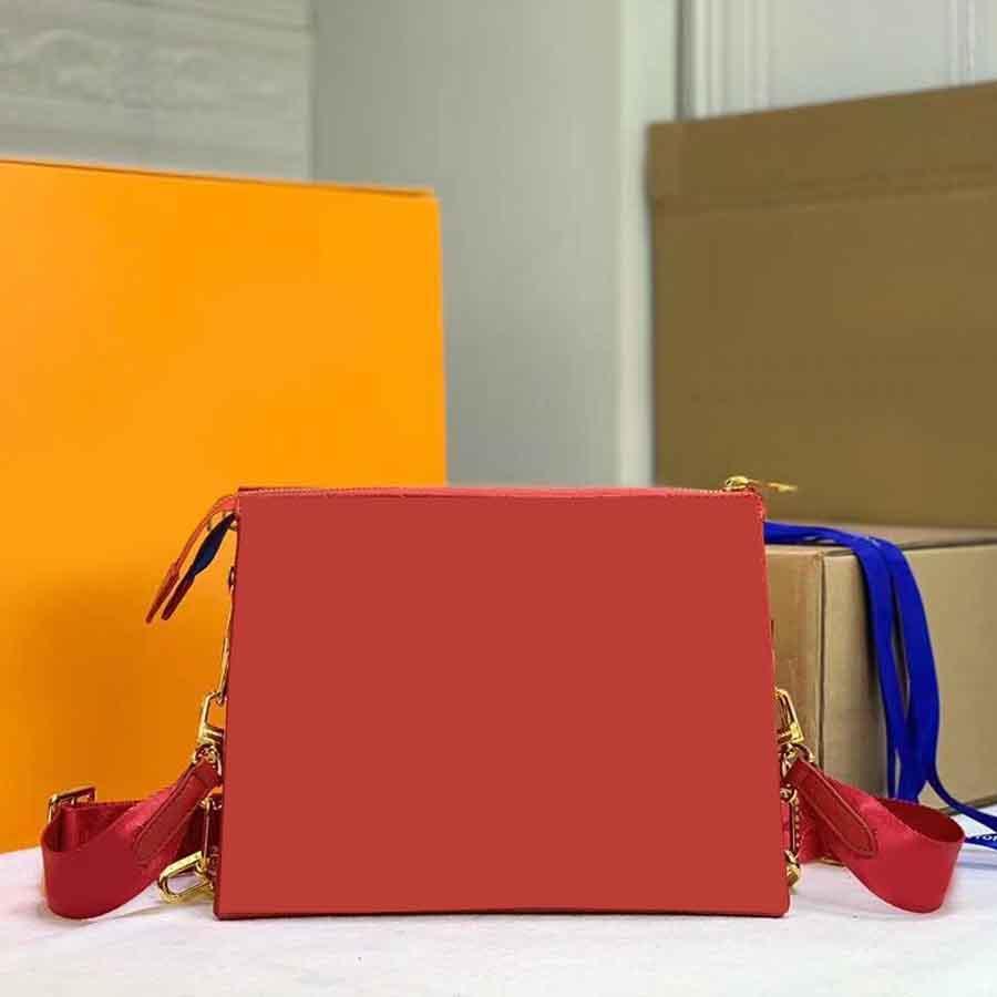 2021 الأعلى حقائب يد صغيرة حقيبة صغيرة ثلاثة طبقات الصليب الجسم حقائب جلدية وسادة حقيبة سلسلة الرغيف الفرنسي الأزياء رسول محفظة محفظة الكتف 57790