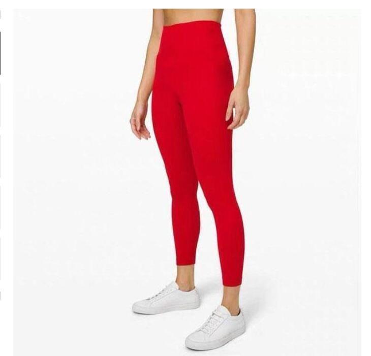 Podsycal сплошной цвет женские йоги брюки с высокой талией спортивный тренажерный зал носить леггинсы упругие фитнес леди общие полные колготки Размер тренировки XS-XL (003
