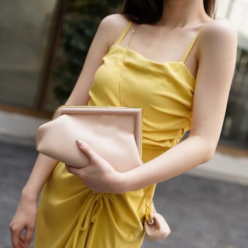 2021 جودة عالية أزياء المرأة حقائب الكتف الجلود سلسلة crossbody رسول محفظة أنثى حقيبة محفظة أحدث الفاخرة مصمم حقيبة مخلب 5 ألوان