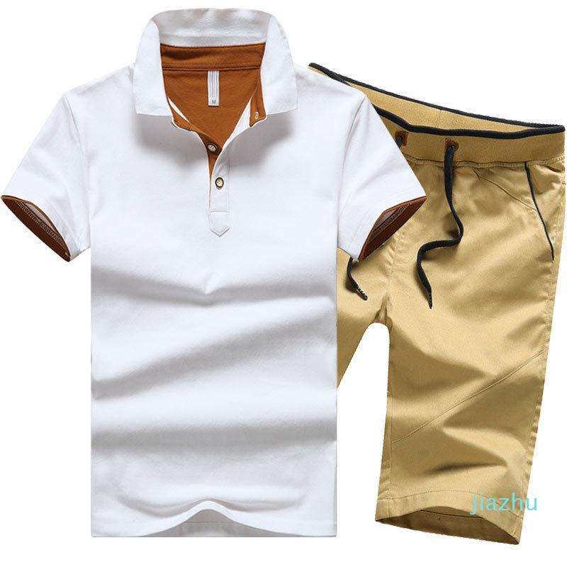 Fashion Men T Shirt Summer Style Short Sleeve Causal Male Set Tracksuit Man Brand Clothing