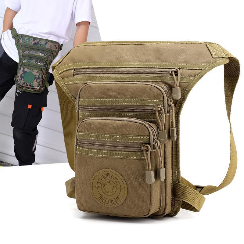 Waterproof Oxford Cloth Leg Bags Outdoor Multifunctional Fishing Waist Riding Bag Saszetka Na Biodra Marsupio Uomo 2021