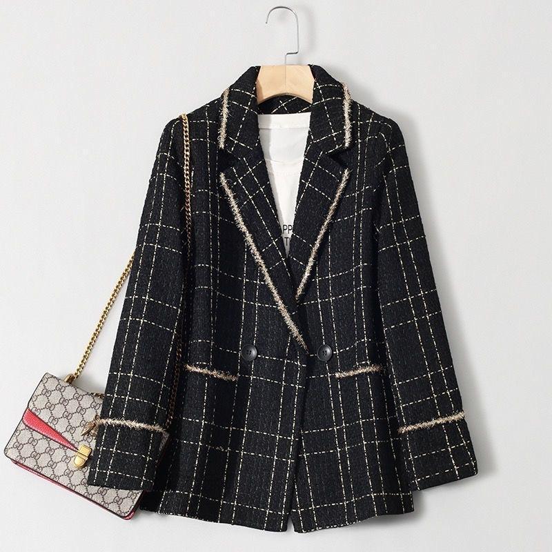 Women's Suits & Blazers 2021 Tweed Jackets, Debutantes, Little Perfumed Blazers, Stylish