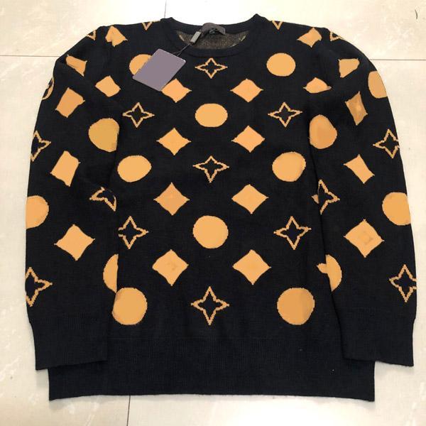 Hommes Pulls Automne hiver Casual manches longues Henry Pull Mode Motif de la broderie Modèle Tops Haute Qualité Hommes Vêtements