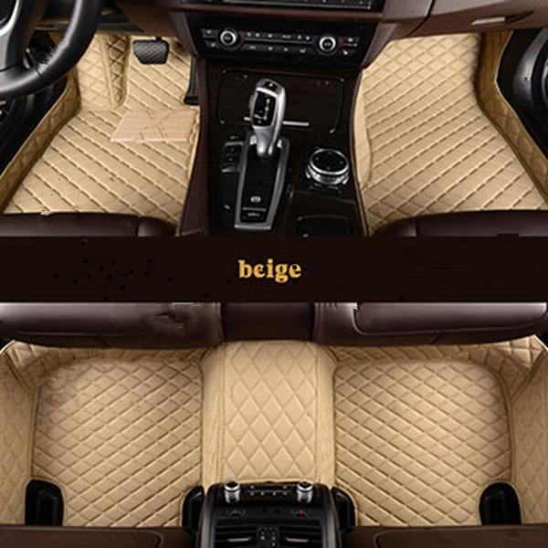Fußbodenmatte für 2007-2019 Volkswagen VW Tiguan Allspace BW2 5N AD1 T-ROC A11 Autozubehör Teppich GVF FDG SF FV B