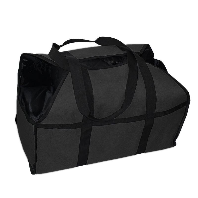 Storage Bags Log Carrier Wood Tote Bag Logging Tool Handbag Firewood Kit Big Portable Zipper Waterproof Large Capacity