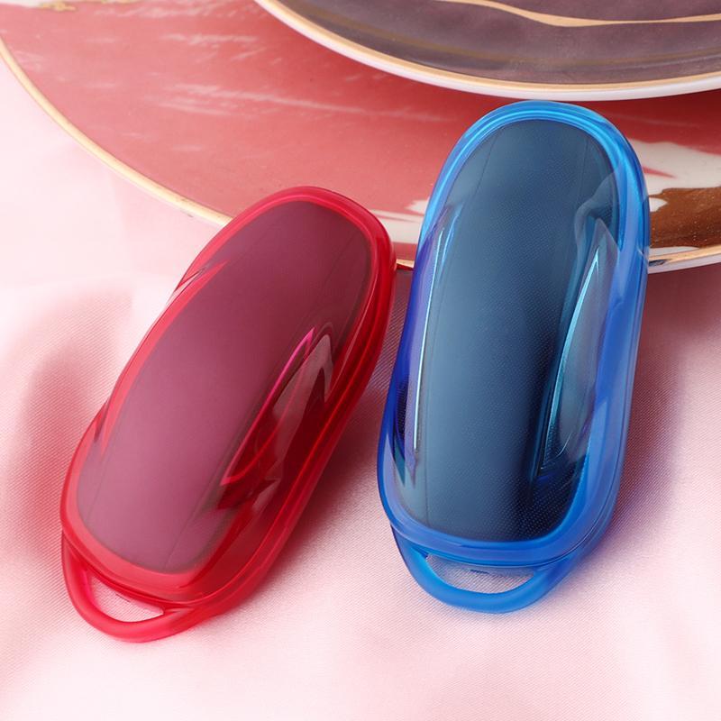 سيارة لينة tpu حامي مفتاح الغلاف الكامل حقيبة كيس مفتاح القضية مكافحة الصفر تعديل نموذج tesla 3 × اكسسوارات السيارات