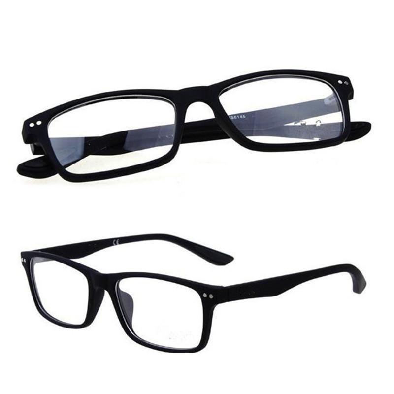 R8145 Marca Classic Glasses Frames Colorido Plástico EyeGasas ópticas Modelo de gafas Vintage Color negro