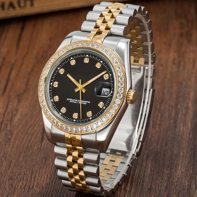 Montres mécaniques automatiques U1 hommes Montre de luxe en acier inoxydable en acier inoxydable 5 ATM étanche imperméable super lumineux montre montre montre-bracelet