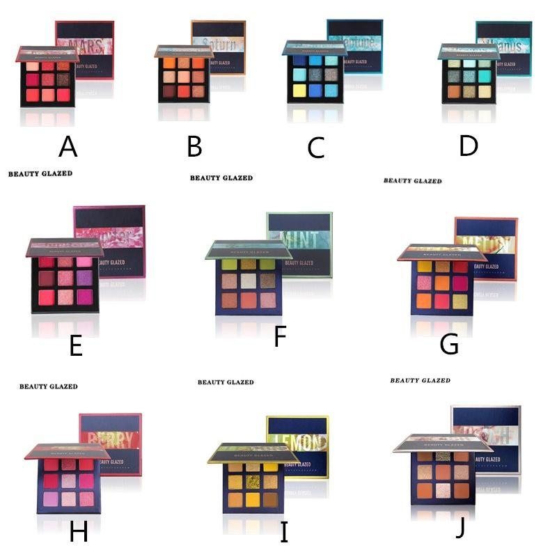 9 color Eyeshadow palette new eye shadow with multi-color eye shadow plate 10 choices