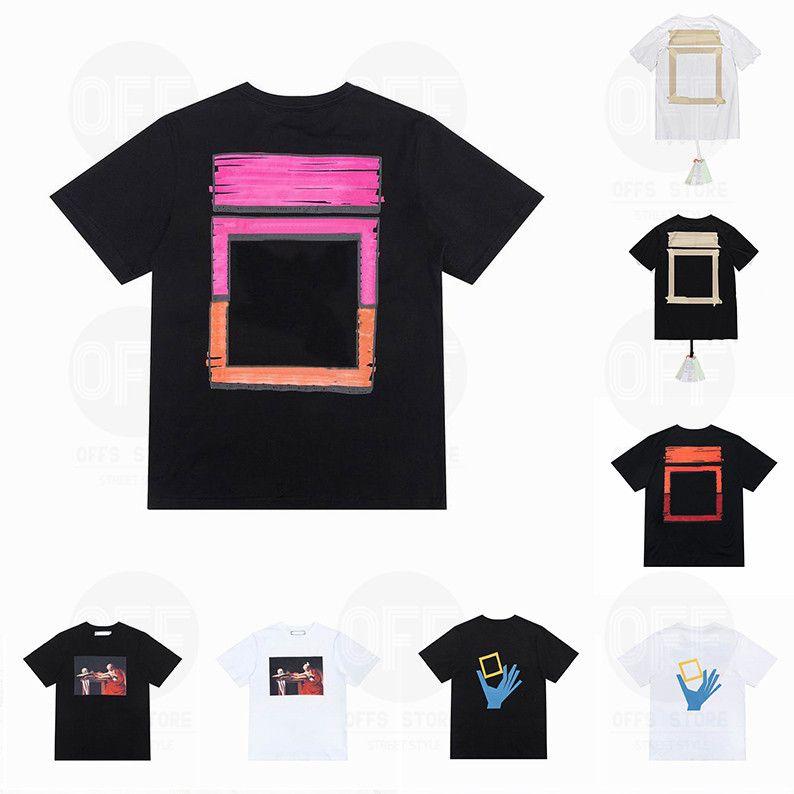 21 ss sommer herren womens designer t shirts lose tees mode marke tops mann s casual shirt luxurys kleidung straßenhorts sleeve kleidung tshirts 2021