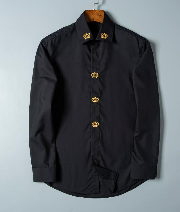 العلامة التجارية الرجال الأعمال عارضة قميص رجالي طويلة الأكمام مخطط يتأهل camisa الغمد القمصان الاجتماعية الذكور قميص جديد أزياء # 1571000