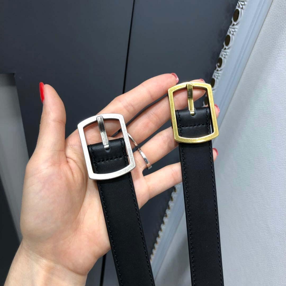 2021 2 سنتيمتر و 3 سنتيمتر أزياء المرأة الصفراء مصممي الرجال أحزمة حزام كلاسيكي مع مربع، إنتاج الجلود الحقيقي، مصدر المصنع 055