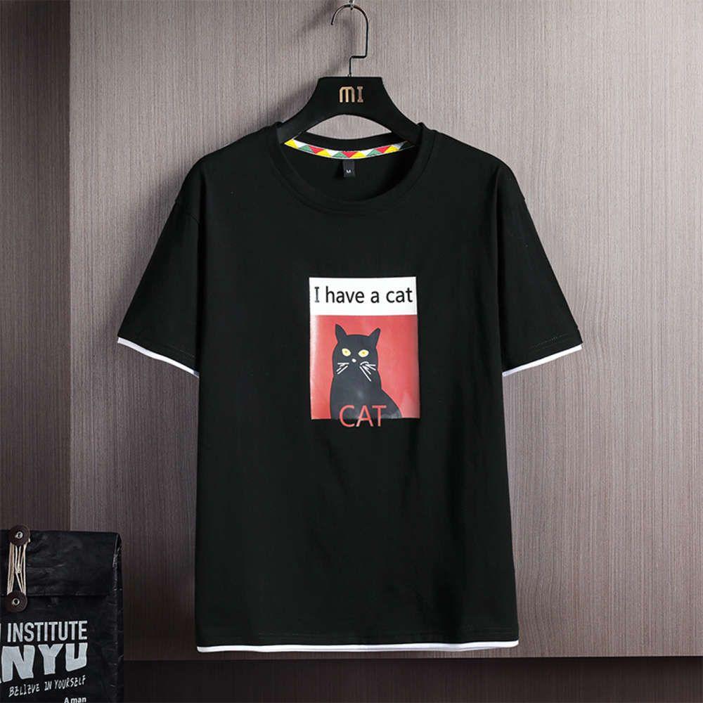 Kedi Baskı T-shirt Komik Kedi Cadılar Bayramı Toksik Unisex Erkekler ve Kadınlar için Yüksek Kaliteli Kediler S