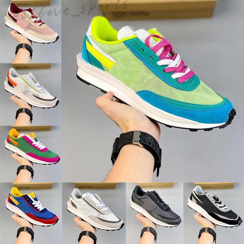 Sésamo Azul Vacío Oscuro Iris Hombres Tour Amarillo Runnin Zapatos Fashion Wine Red LDV Waffle Undercover X University Women Men Sports Sneakers TA01