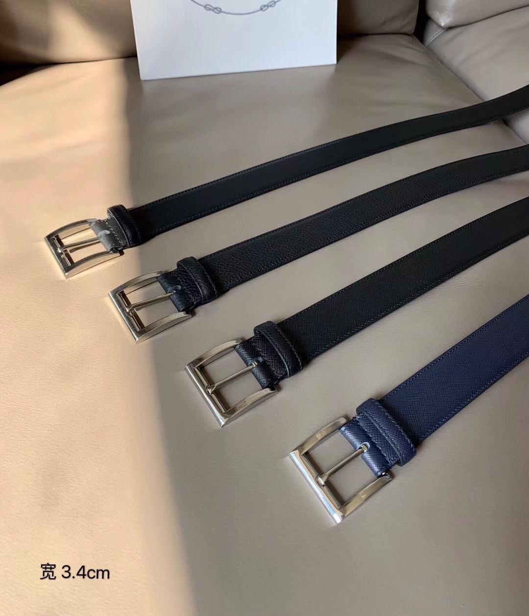 2021 3.4 cm P Fashion R Donne A Luxurys Men D Designer Cintura Cintura classica con scatola, produzione reale in pelle, la fonte di fabbrica 66