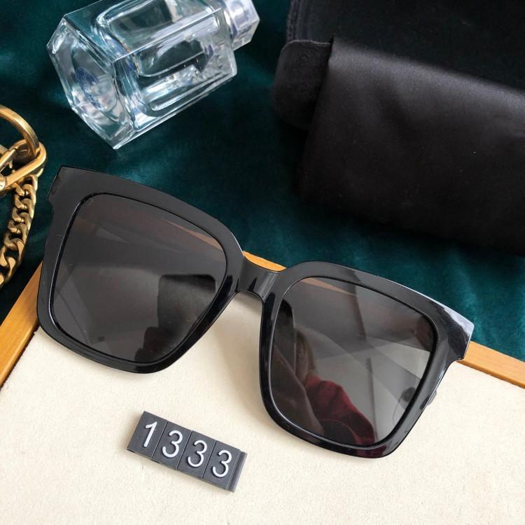 2021 رجل النساء النظارات الشمسية الرجال العلامة التجارية مصمم نوعية جيدة أزياء المعادن المتضخم خمر نظارات كاملة الإطار uv400.