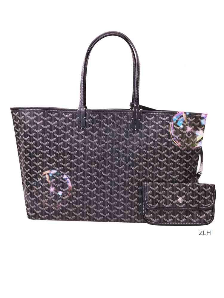 Faye Wong Shuqi Même sac pour femmes élégantes GOYA une épaule Sac shopping de grande capacité sac fourre-tout