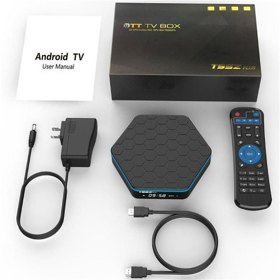 T95z plus set-top box S912 HD network player Android 7.1 3G/32G tvboX 2G+16G 3G+32G Hardward 3D graphics acceleration