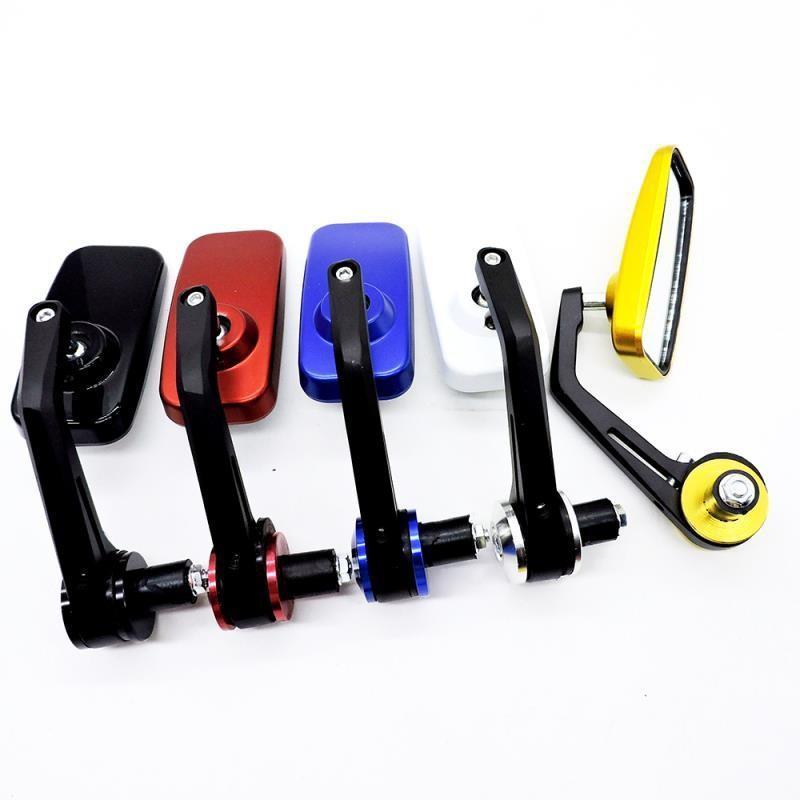 Motosiklet Dikiz Aynası Modifiye Serin Kare Kolu Evrensel Elektromobile Scooter RetroreFLector Aynalar