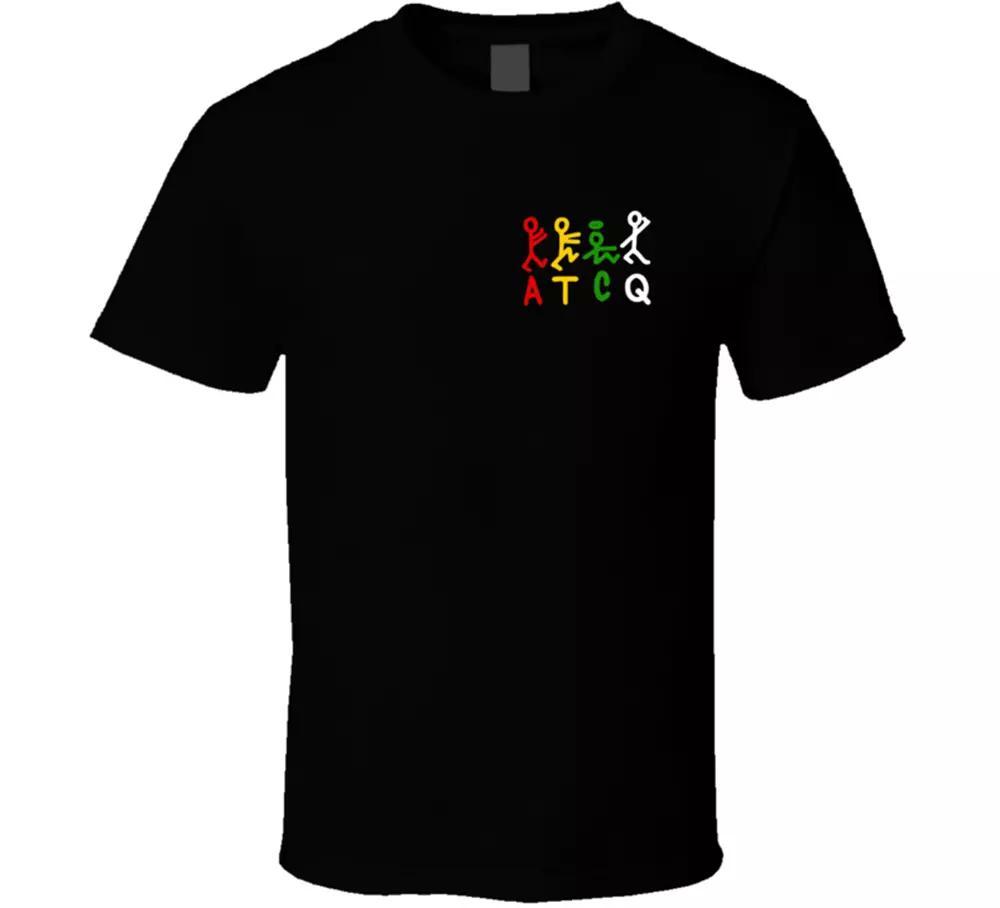Goldene Ära, ein Stamm namens Quest, (ATCQ) logo Hip Hop New York City T-Shirt T-Shirt