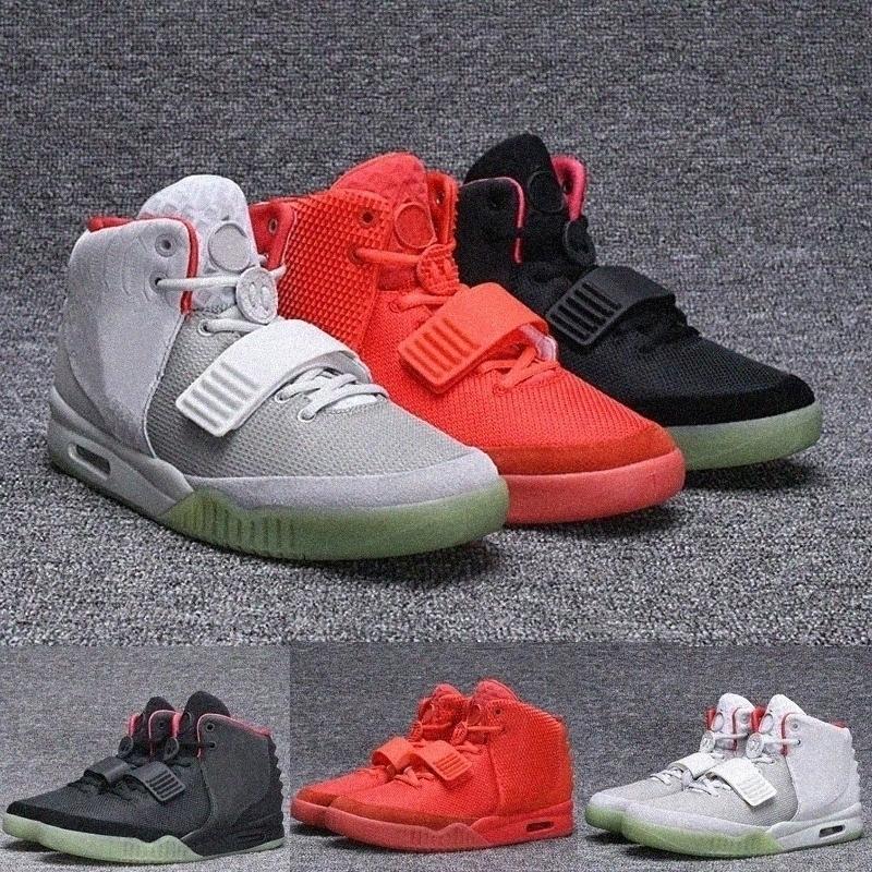 Kanye 1 I Blink Net Tan Zen Gray Men كرة السلة أحذية ألعاب القوى الأحذية الغربية 2 II Solar NRG Red أكتوبر تشغيل أحذية رياضية وحيدة