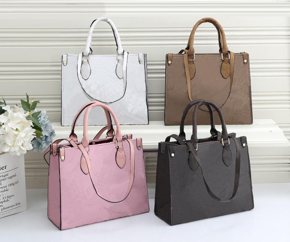 2020 새로운 우수한 품질 패션 여성 럭셔리 가방 여성 PU 가죽 핸드백 브랜드 가방 어깨 가방 M 대형 핸드백 여성