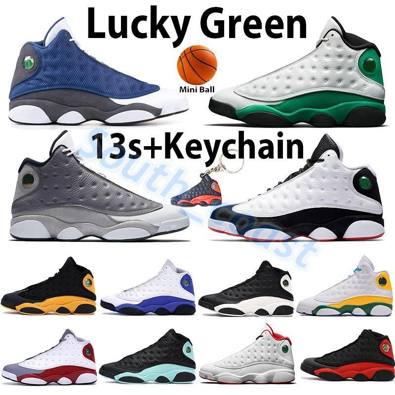 Air Jordan 13 13s Basketballschuhe Flint Court Purple Seestern Lucky Green Obsidian Grey Toe Chicago Playoffs Er hat Spiel Männer Frauen Sport Turnschuhe