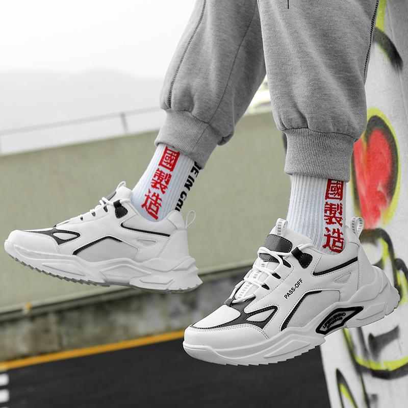 Trend Mode Schuhe für Frauen Männer Herren Walk Fall Weiche Atmletische Atmungsaktive Chaussures Sport Leichte Zapatos Skateboard Auf Lager Sechs 39