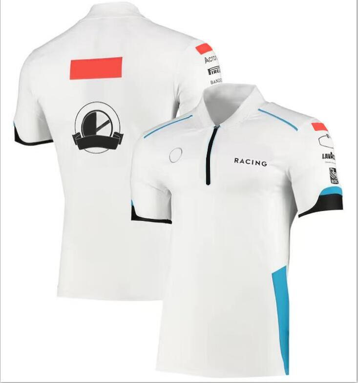F1 Racing Polo Summer F1 T-shirt Même Style Personnalisation