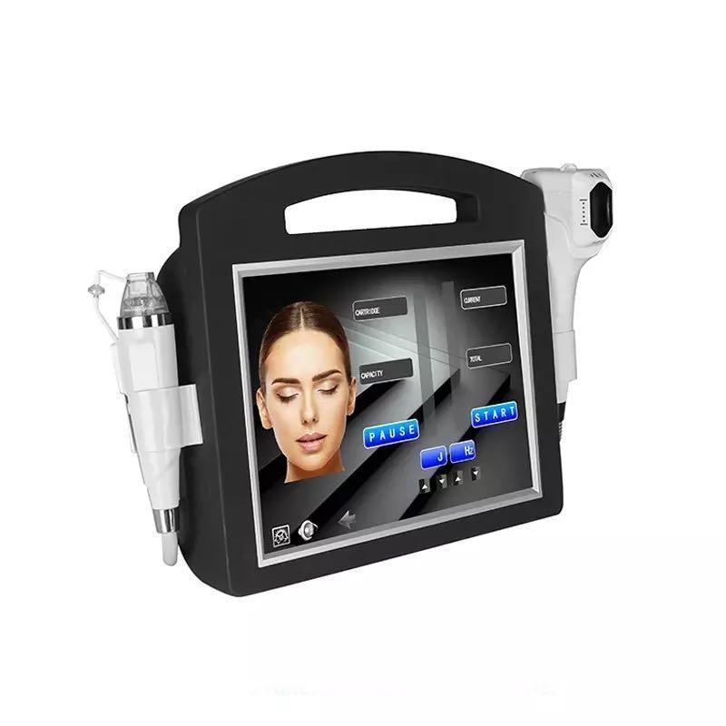 Professionnel Design 4D HIFU FRACKAL RF MicroneDle Machine Face Soins Gold Micro Aiguille Skin Roller Sécurité Stretch Mark Traitement de l'enlèvement