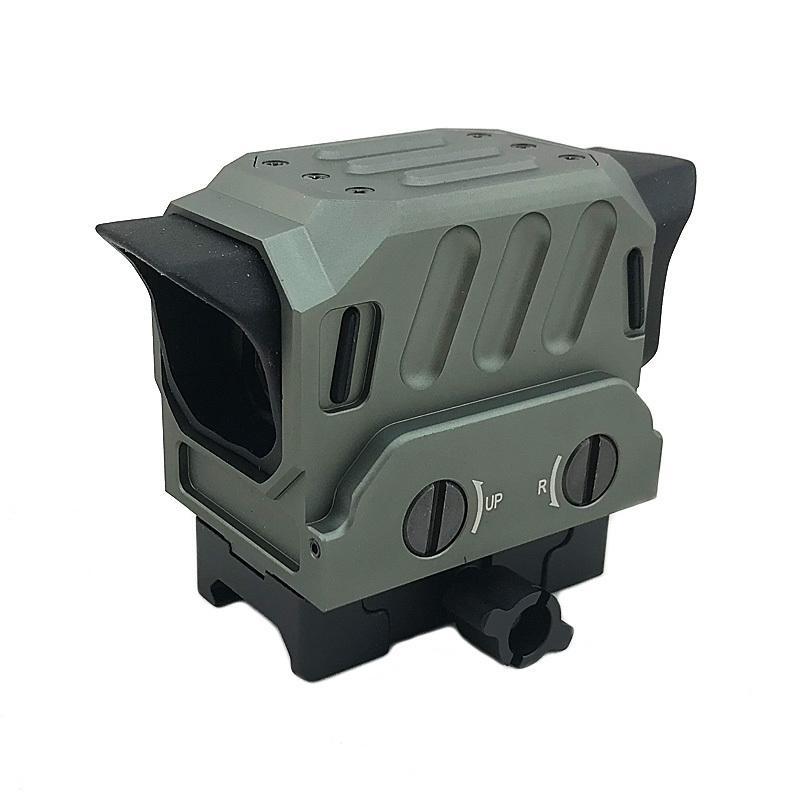 EG1 Tactical Di Red Dot Scope Holographische Reflex-Sichtjagdgewehrbereich für 20-mm-Schiene