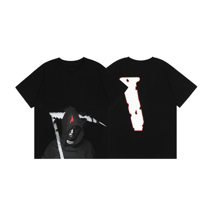 Yüksek Kalite Büyük V T-shirt Tasarımcılar Giysi Tees Polo Moda Kısa Kollu Eğlence Basketbol Formaları Erkek S Giyim Kadın Elbiseler Erkek Eşofman