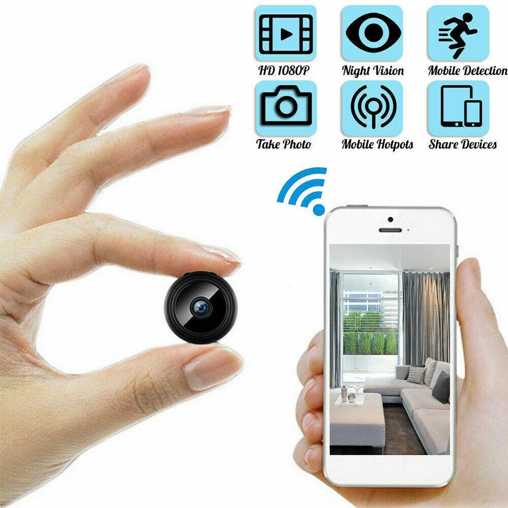 Mini 1080P Full-HD Small Wifi Camera Wifi IP Mini Camera IR Night Vision Micro Motion Detection Camera Support TF Card
