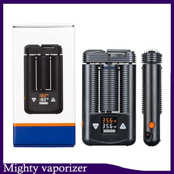 Podría Vaporizer Seco Herb CIG Kits Handheld Personal Vape Mod Con Temperatura Ajustable E Cigarrillos