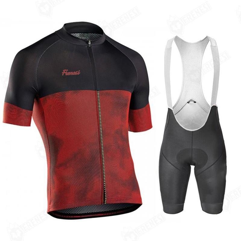 Гоночные наборы 2021 Pro Team Freenesi Велоспорт Джерси набор гель велосипед шорты костюм MTB ROPA Ciclismo Мужские летние велосипеда Mainoot