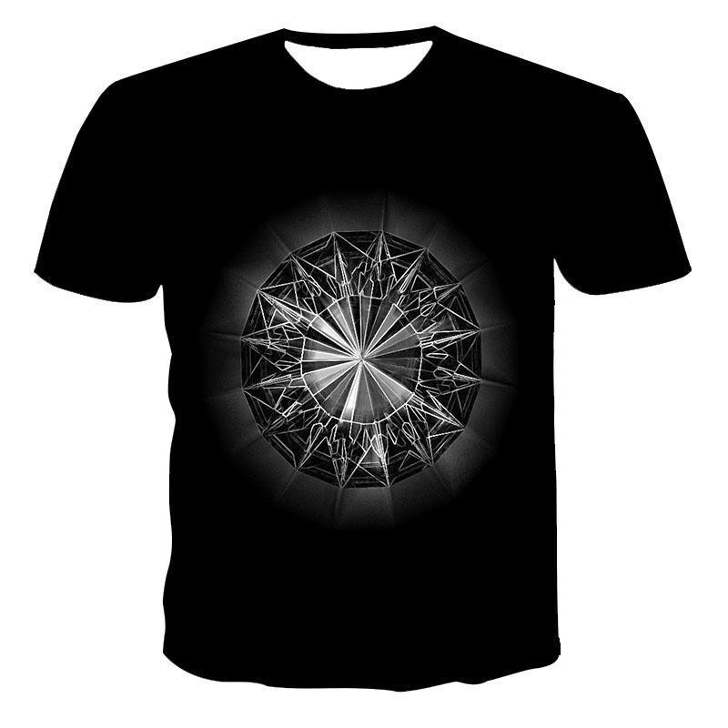 Men's T-Shirts 3D Skull T-Shirt For Men Women Unisex Hip Hop Funny Casual T Shirt Short Sleeve O-Neck Top Harajuku Tees Tops Plus Size