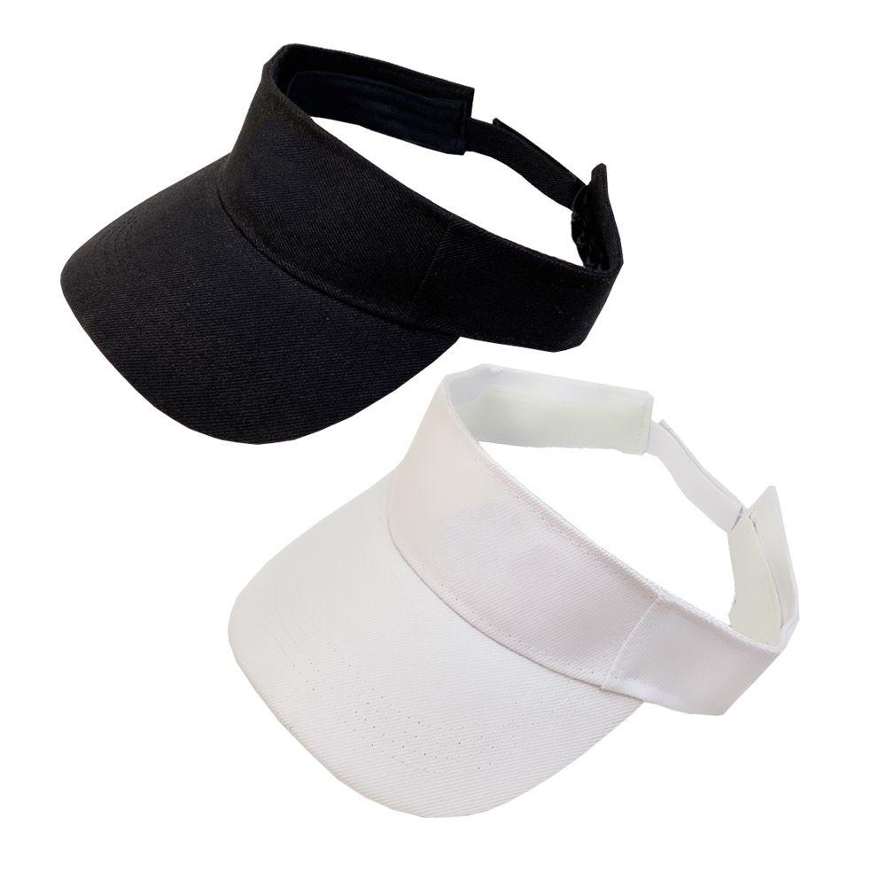 Women Visors Letter Empty Top Cap Casual Summer Visor Sun Hat Sports Womens Mens Golf Tennis Outdoor Beach Headband Snapback Baseball Hats