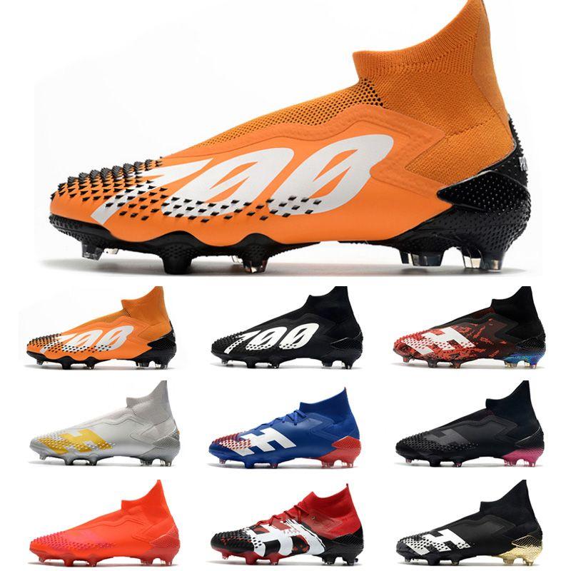 2021 Predator Mutator 20+ FG Soccer Cleats Shoes Designer High Ankle Messi World Cup ACC Cristiano Ronaldo Human Race Football Boots scarpe da calcio