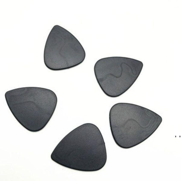 Sigara Aksesuarları Üçgen Siyah Plastik Polen Kıyasakları Için Ot Öğütücü Kürek Tabacco Gitar Pick Owd6202