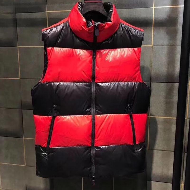 Yelekler Tasarımcı Ceket Aşağı Yelek Erkek Kadın Ceket Moda Yelek Ceketler Erkekler Giyim Downs Mont Kolsuz Yukarı Sonbahar Kış