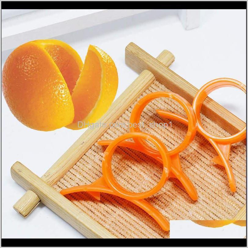 Peelers Zesters Device Samll Practical Finger Type Orange Stripper Opener Fruit Vegetable Tools Kitchen Gadgets 7207L Vaioi