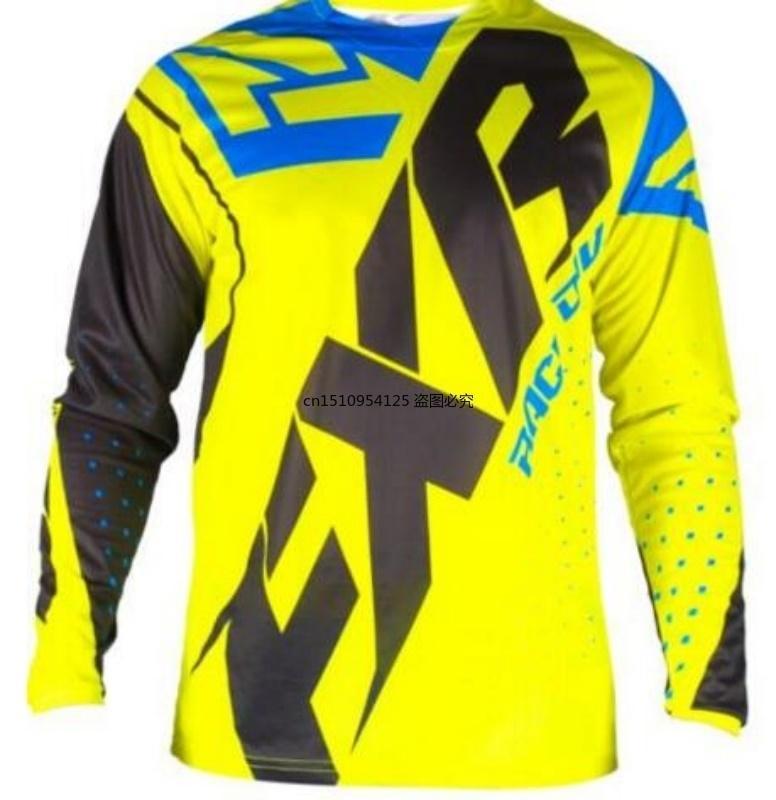 Новый FXR Motocross рубашка мотоцикл мотоциклетной пиджак бездорожной футболку ездить велосипед с длинным рукавом джерси мотор езды на велосипеде джерси мужчины с длинным рукавом x0523