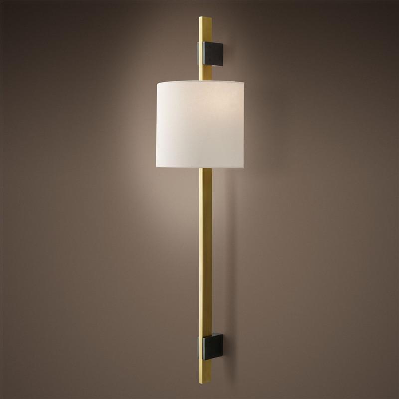 Postmodernes Licht Luxus Wohnzimmer Duplex Verkaufsabteilung Villa Wandleuchte El Club Hall Gänge