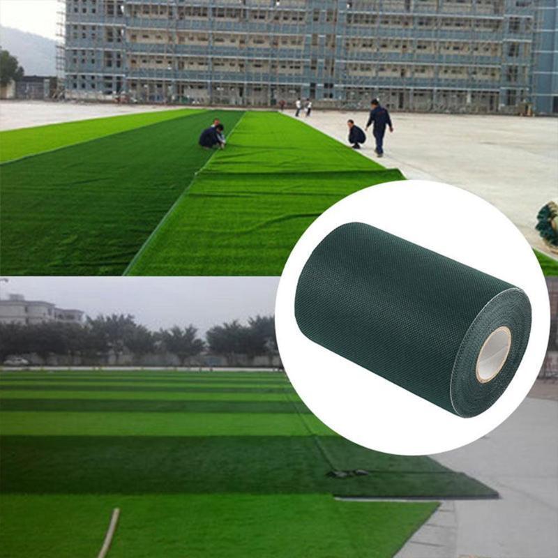 기타 정원 건물 15x1000cm 합성 잔디 잔디 카펫 가입 그린 테이프 인공 잔디 시밍 장식 접합
