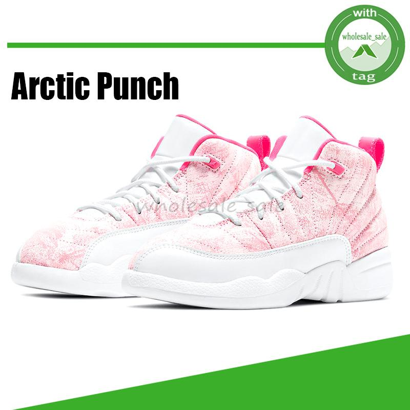 12 12s Jumpman Womens Basketball Shoes Arctic Punch Women Mens Sneakers Twist XII Men Sports Trainers Size 5.5-8.5