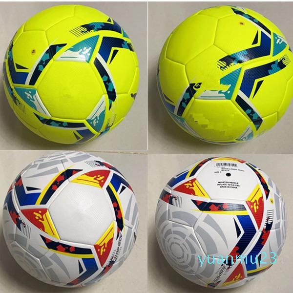 2020 2021 LA Liga Ligi Yüksek Kalite 20 21 Futbol Topu Final PU Boyutu 5 Topları Granüller Kaymaz Futbol