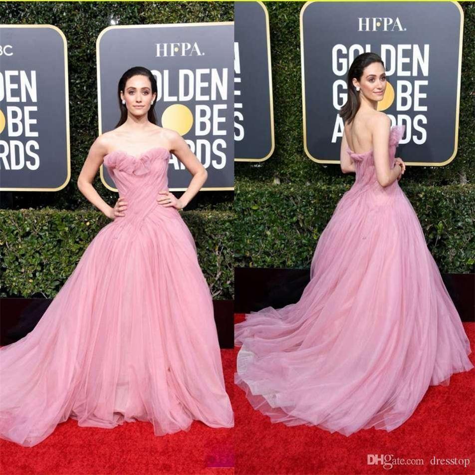 Sexy Oscar Rose Pan Pal Robes Sweetheart A Ligne Tulle Soirée Robe De Soirée Du Plancher Durée Durée Pareant Dress Custom