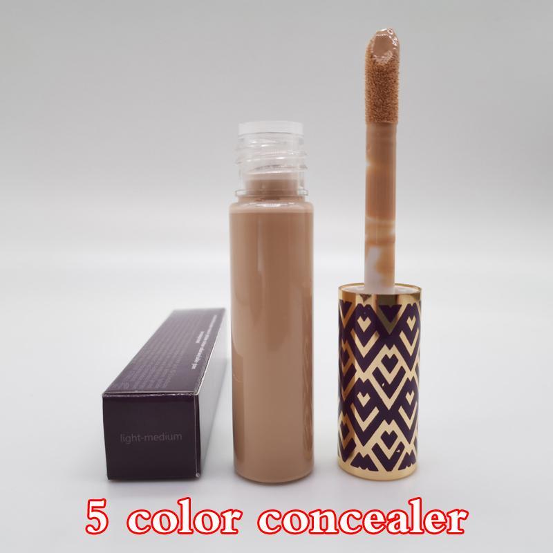 Maquillage 5 Couleurs Couleurs Fair Fair Lumière Moyenne Moyenne Lumière Sable 10ml Fondation liquide Cosmétiques