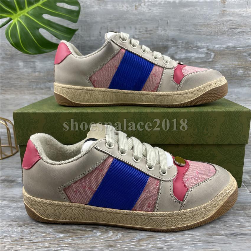 Uomini donne Screener Series Sneakers Sneakers Piattaforma Piattaforma Scarpe da svago Scarpe Adolescenti in pelle di tela Adolescenti Casual Shoes Trainer