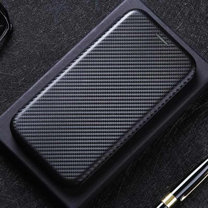 OnePlus Case Nord N100 N10 Karbon Fiber Flip Deri 9 8 T 8 7 T 7 6 5 T Pro Kart Tutucu Walle Manyetik Kapak Cep Telefonu Kılıfları